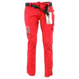 GEOGRAPHICAL NORWAY nohavice páske PACOME PANT MEN 302 kapsáče