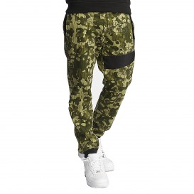 Dangerous DNGRS / Sweat Pant New Pockets in camouflage