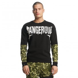 Dangerous DNGRS / Pullover Methal in black