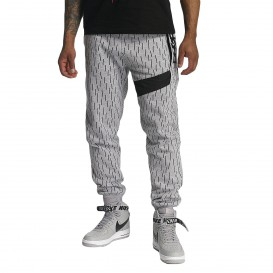 Dangerous DNGRS / Sweat Pant Lemon in gray