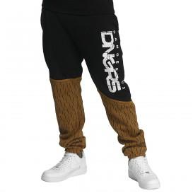 Dangerous DNGRS / Sweat Pant Bear in brown