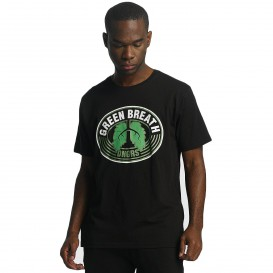 Dangerous DNGRS / T-Shirt Green Breath in black