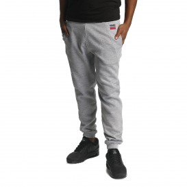 Dangerous DNGRS / Sweat Pant Twoblock in gray