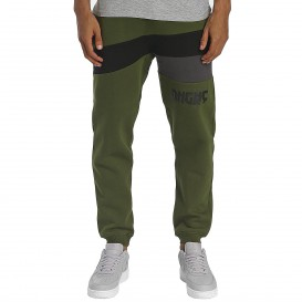 Dangerous DNGRS / Sweat Pant Cutter in olive