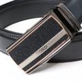 BOND opasok pánsky B14 kožený automatická spona 3 šírka 3,5 cm