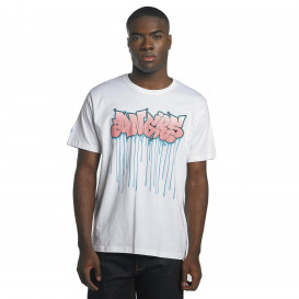 Dangerous DNGRS / T-Shirt Bassi in white