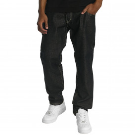 Ecko Unltd. nohavice pánske Straight Fit Jeans Gordon St Straight Fit in black