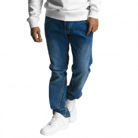 Ecko Unltd. nohavice pánske Straight Fit Jeans Gordon St Straight Fit in blue