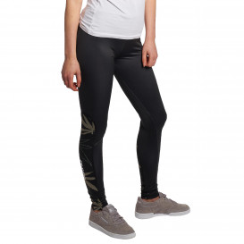 Dangerous DNGRS / Legging/Tregging Woodpeace in black