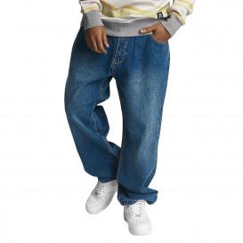 Ecko Unltd. nohavice pánske Baggy Camp's B Baggy Fit in blue