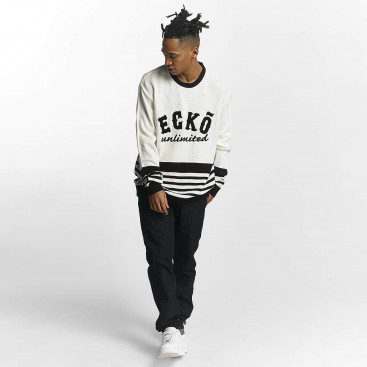 Ecko Unltd. / Jumper Oldschool in white