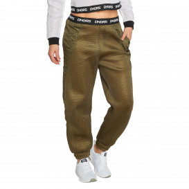Dangerous DNGRS / Sweat Pant Vista in olive