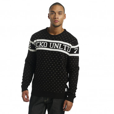 Ecko Unltd. / Jumper Winter in black