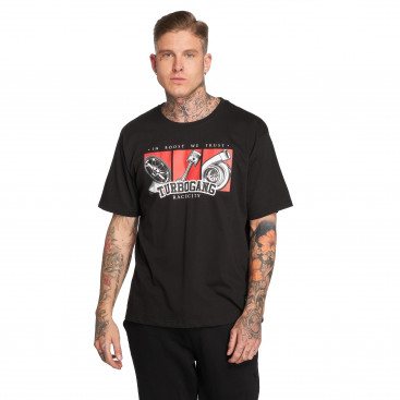 Dangerous DNGRS / T-Shirt IBWT in black