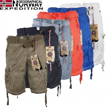 GEOGRAPHICAL NORWAY nohavice pánske PABLO MEN 063 kraťasy