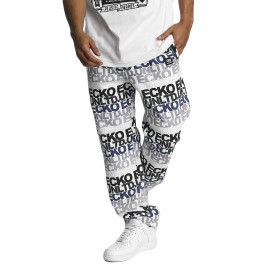 Ecko Unltd. / Sweat Pant TroudÀrgent in white
