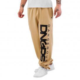 Dangerous DNGRS / Sweat Pant Classic in beige