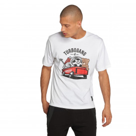 Dangerous DNGRS / T-Shirt DNGRS Wagon in white