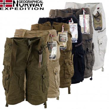 GEOGRAPHICAL NORWAY nohavice pánske PARASOL bermudy kapsáče