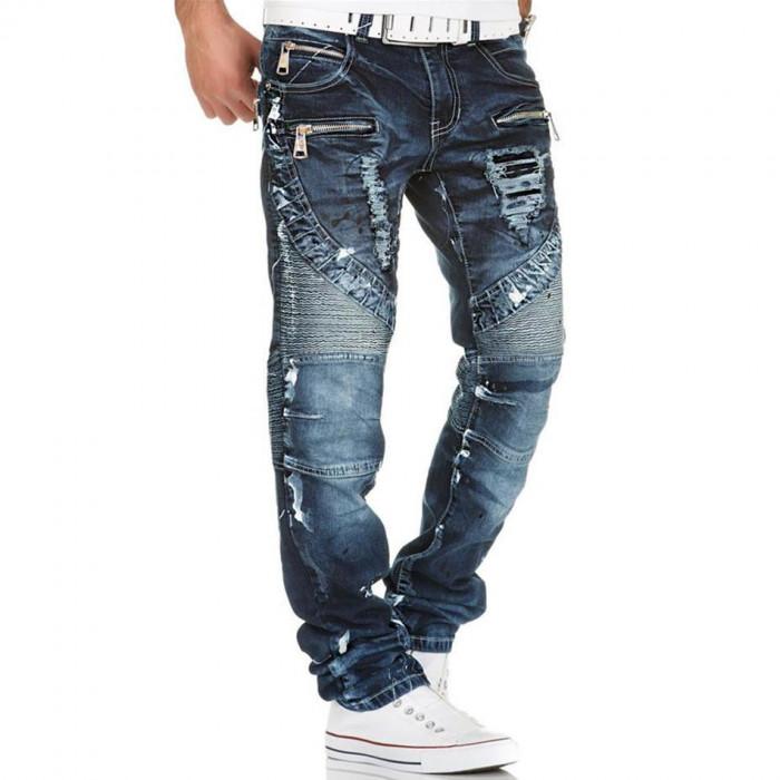 KOSMO LUPO nohavice pánske KM141 jeans džínsy - DG-SHOP.SK 1c47ffa366