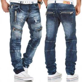 KOSMO LUPO nohavice pánske KM136 jeans džínsy