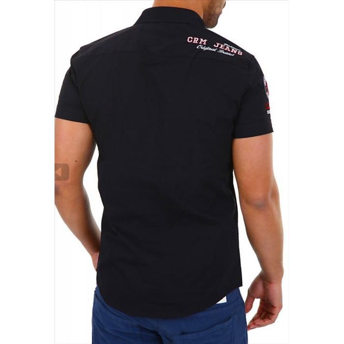 9d17615c8a07 CARISMA košile pánská 9023 krátký rukáv slim fit