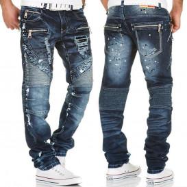KOSMO LUPO nohavice pánske KM141 jeans džínsy
