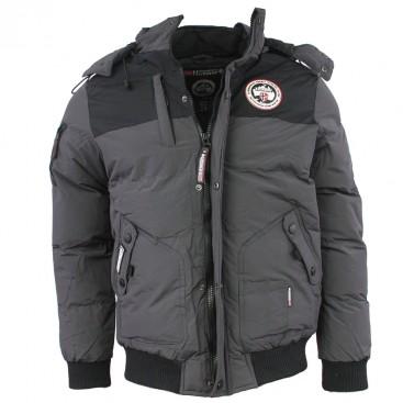 GEOGRAPHICAL NORWAY bunda pánska VERTIGO zimná, prešívaná s kapucňou