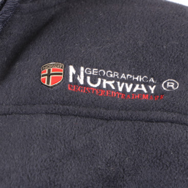 GEOGRAPHICAL NORWAY mikina pánska UBOLT s kožušinkou