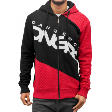 Dangerous DNGRS / Zip Hoodie Big Logo in black