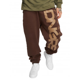 Dangerous DNGRS nohavice pánske Sweat Pant Classic in brown