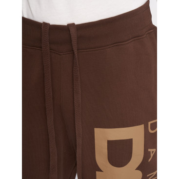 Dangerous DNGRS / Sweat Pant Classic in brown