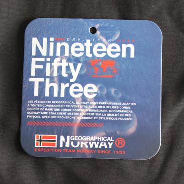 GEOGRAPHICAL NORWAY bunda pánska TECHNO softshell