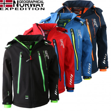 GEOGRAPHICAL NORWAY bunda pánska TARZAN MEN 007 softshell