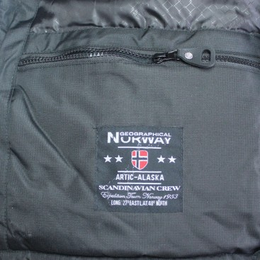 GEOGRAPHICAL NORWAY bunda pánska zimná ANACONDA