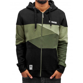 Dangerous DNGRS mikina pánska Zip Hoodie Limited Edition II Race City in camouflag