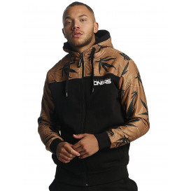 Dangerous DNGRS / Zip Hoodie Health in brown