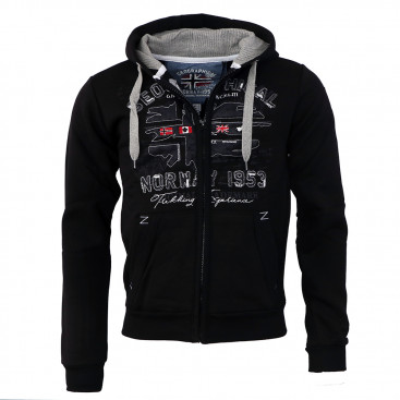 GEOGRAPHICAL NORWAY mikina pánska FOLDUC MEN 100