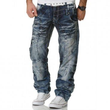 KOSMO LUPO nohavice pánske KM040 jeans džínsy