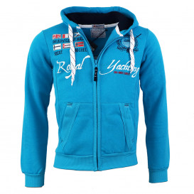 GEOGRAPHICAL NORWAY mikina pánska GRANDIOSE MEN 100 FULL ZIP