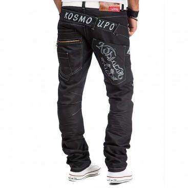 KOSMO LUPO kalhoty pánske KM322-1 jeans džínsy