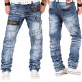 KOSMO LUPO kalhoty pánske KM012 jeans džínsy