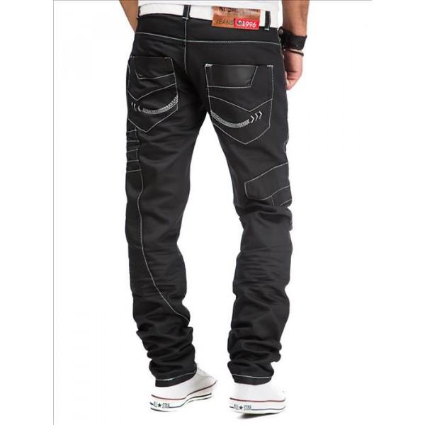 KOSMO LUPO kalhoty pánske KM012-1 jeans džínsy