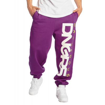 Dangerous DNGRS / Sweat Pant Classic in purple