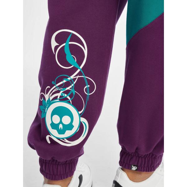 Dangerous DNGRS / Sweat Pant Skull in purple