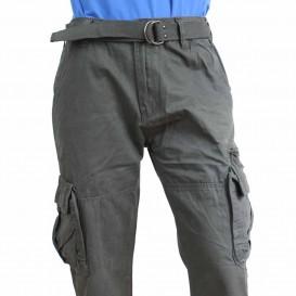 Kapsáče panské kalhoty QUATRO šedé novinka